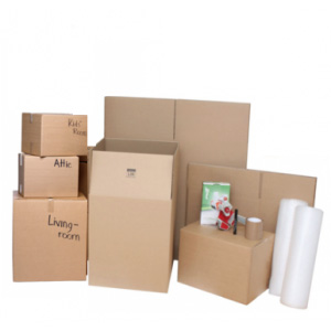4 Bedrooms Home Moving Kit